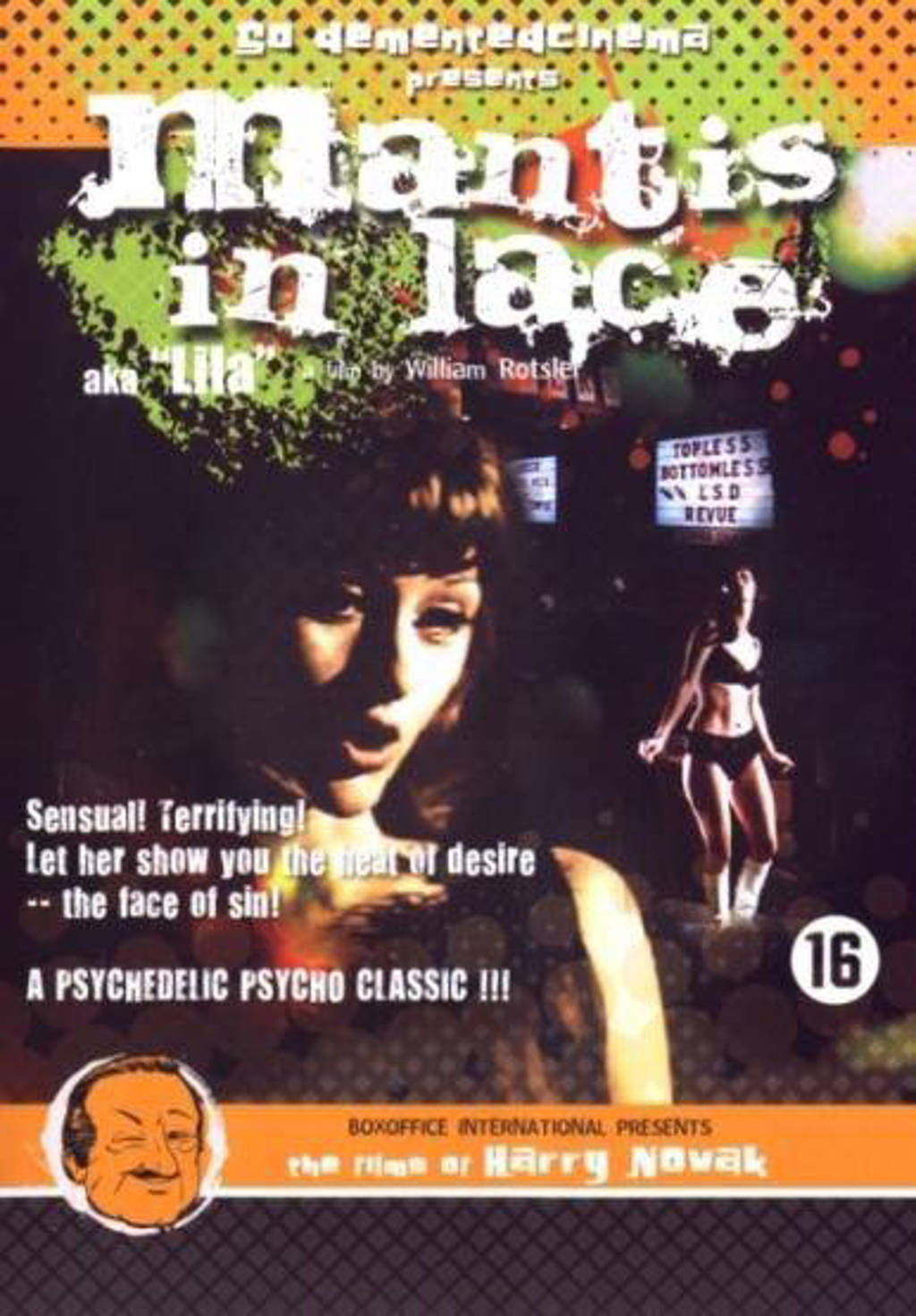 Mantis in lace (DVD)