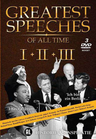 Greatest speeches of al time 1-3 (DVD)