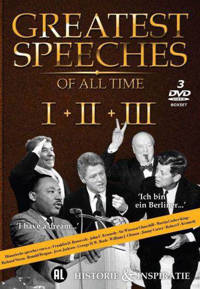Greatest speeches of all time 1-3 (DVD)