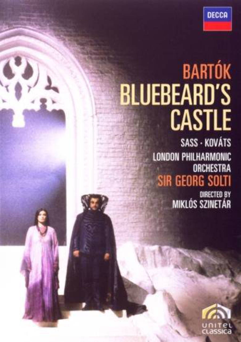 Bartok - duke bluebeard's castle (DVD)