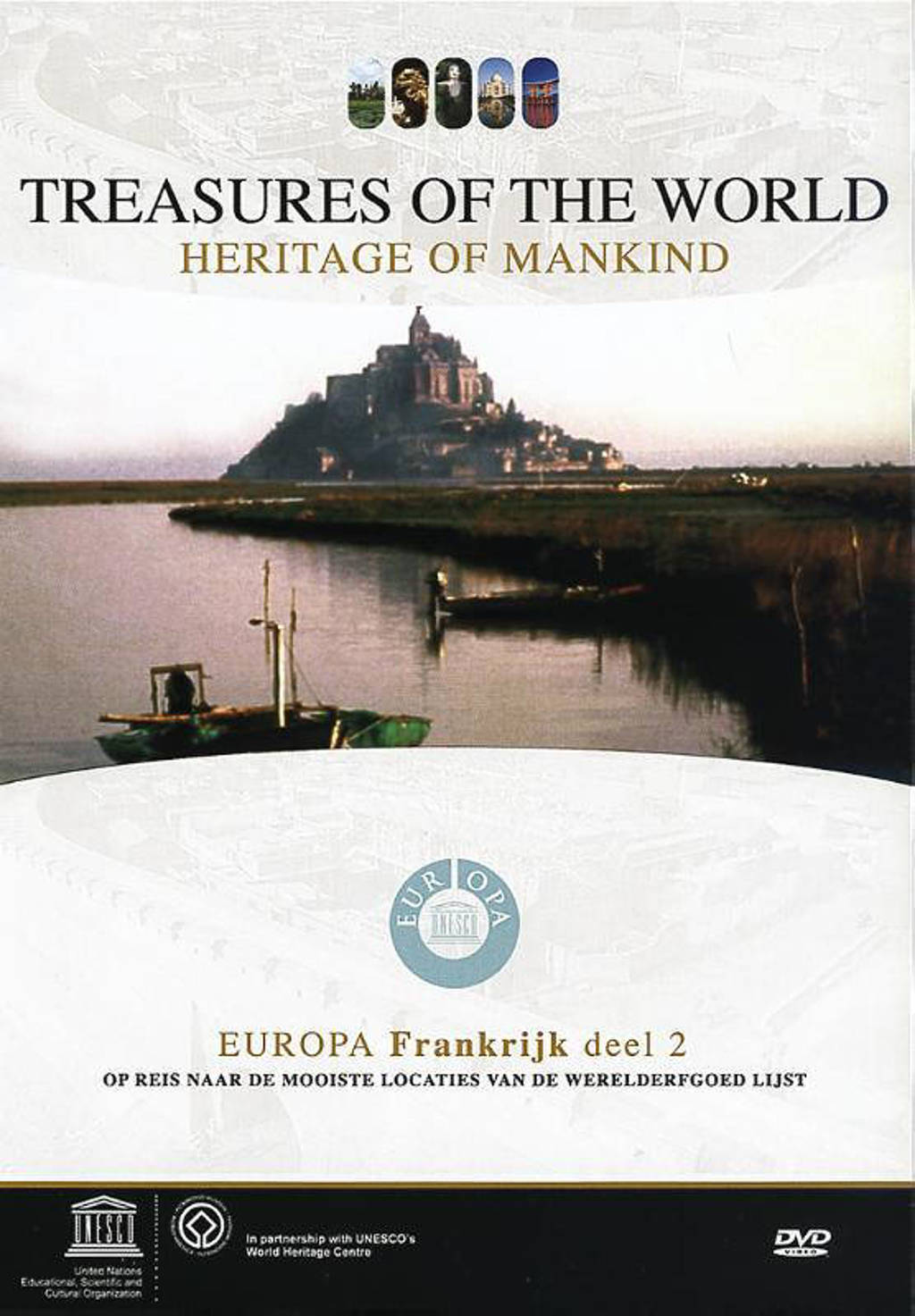Treasures of the world-frankrijk 2 (DVD)