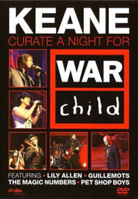 Keane - curate a night for warchild (DVD)