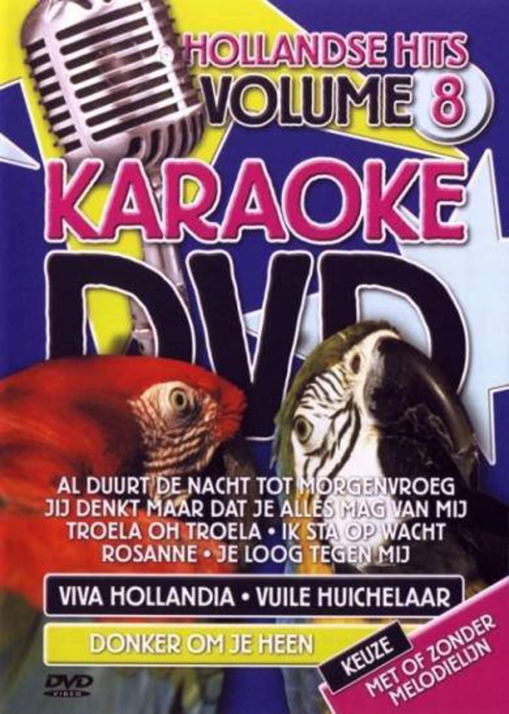 Karaoke dvd - Hollandse hits 8 (DVD)