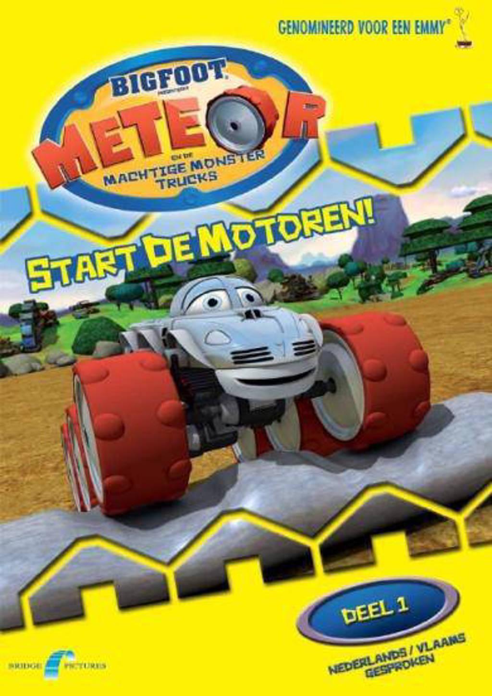 Meteor en de machtige monster trucks - Start de motoren (DVD)