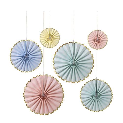 Meri Meri Pinwheels Decoratie Pastel