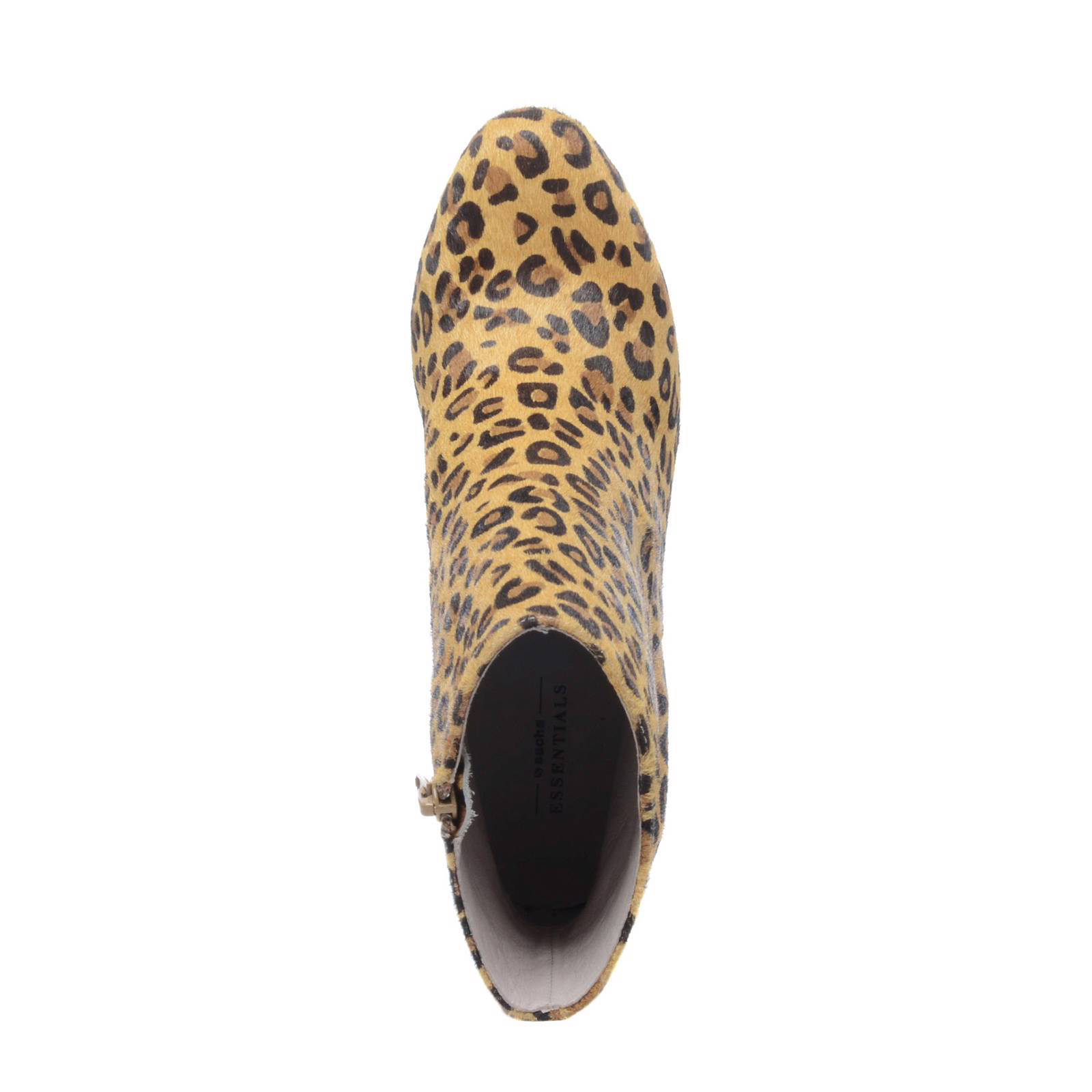 luipaardenprints enkellaarsjes