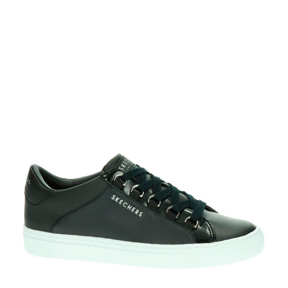 Skechers leren sneakers, Zwart