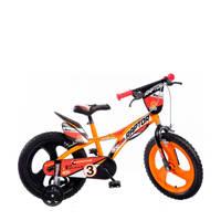 Dino Bikes Raptor 16 inch kinderfiets, 16 inch / 104 - 110
