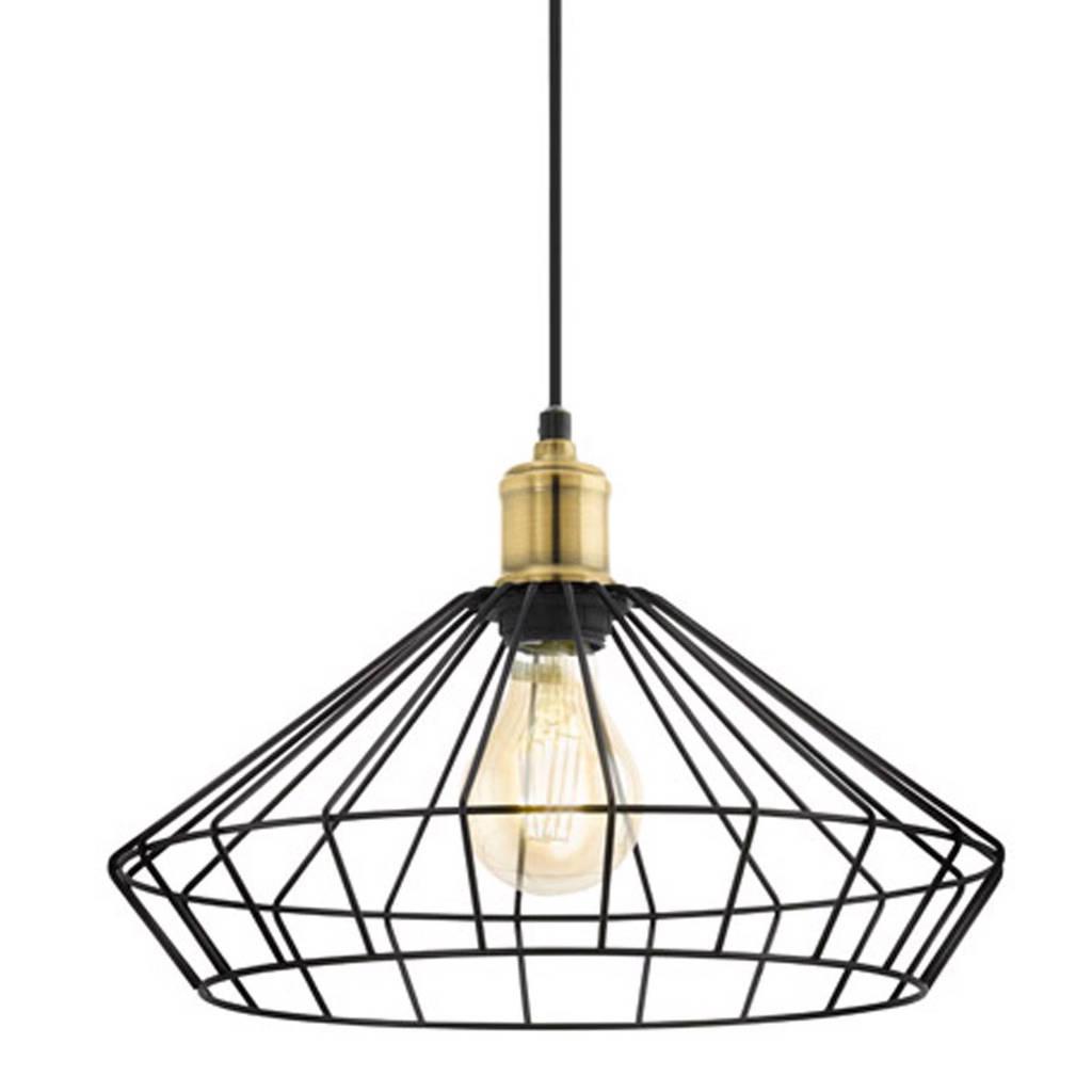 Eglo hanglamp (ø 35 cm), Zwart/brons