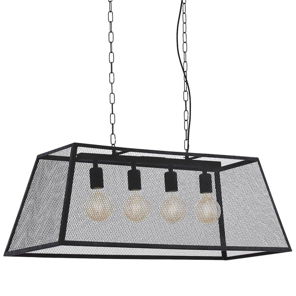 Eglo hanglamp (4 lichts), Zwart