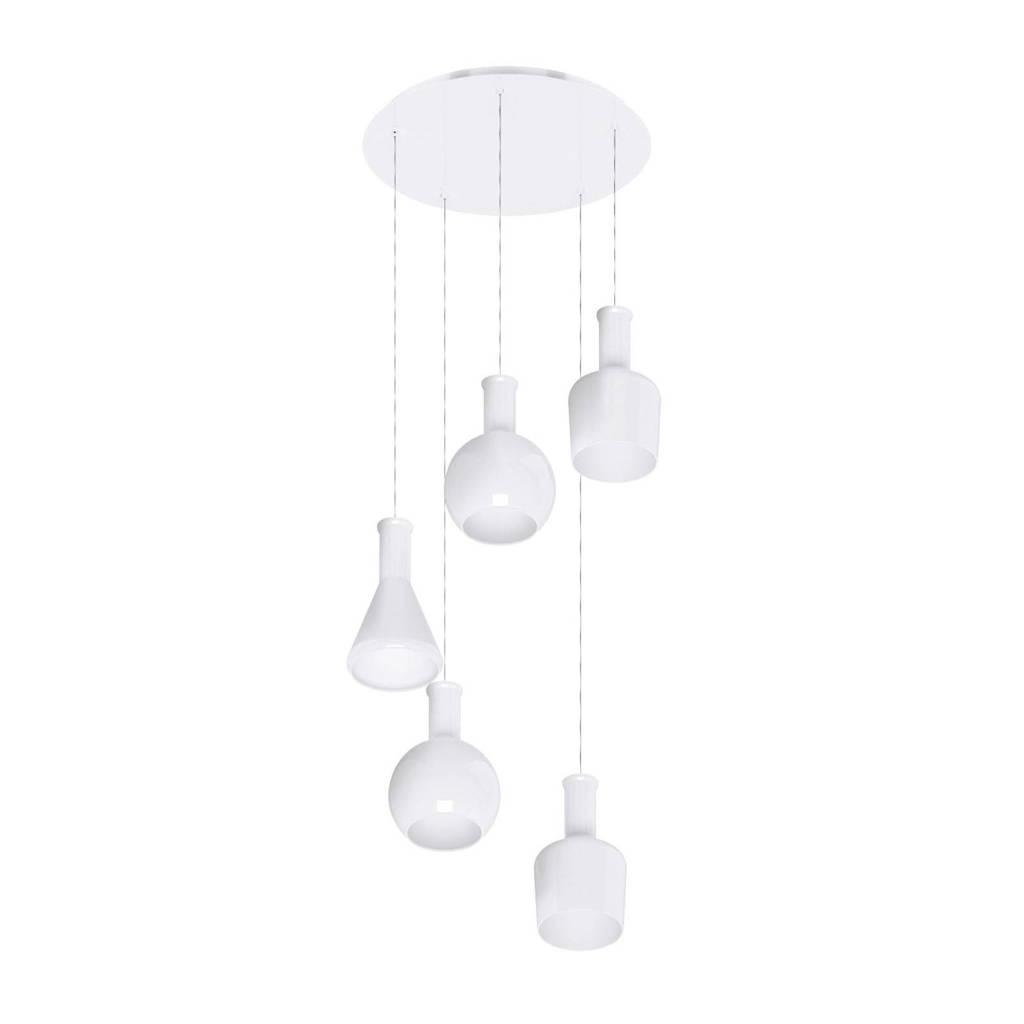 Eglo hanglamp (5 lichts), Wit