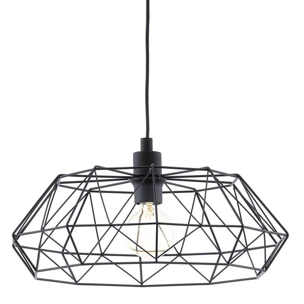 Eglo hanglamp (ø 45,5 cm), Zwart