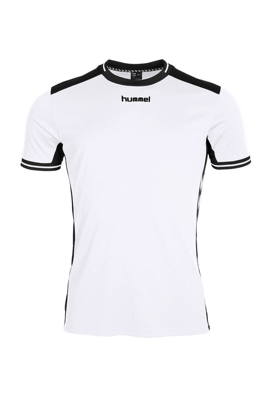 hummel   sport T-shirt, wit/ zwart