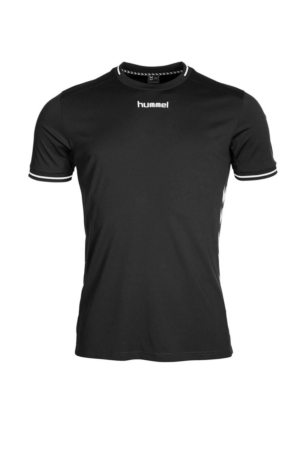 hummel Junior  sport T-shirt, Zwart/wit