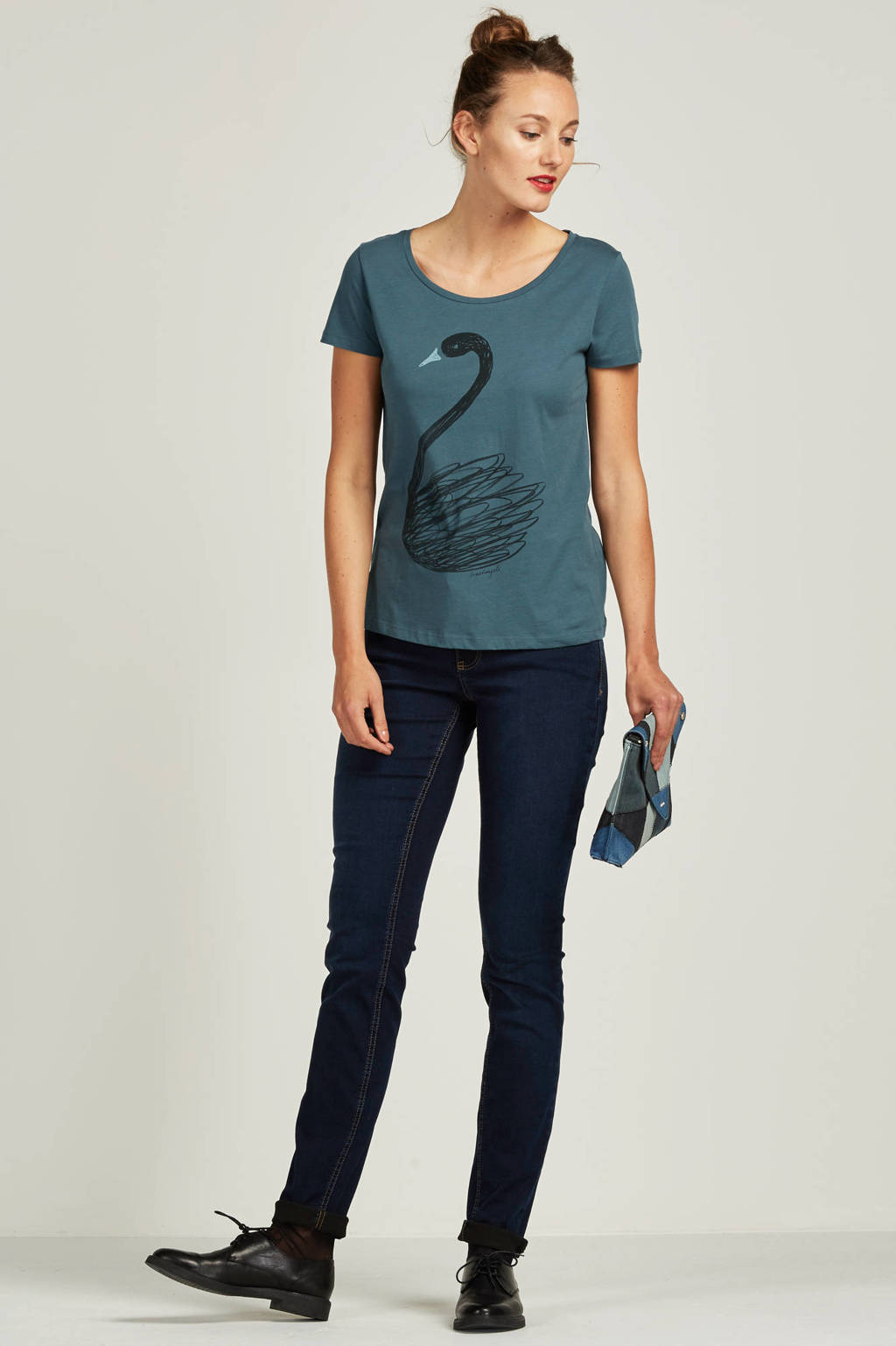 MAC Dream skinny fit jeans, Donkerblauw