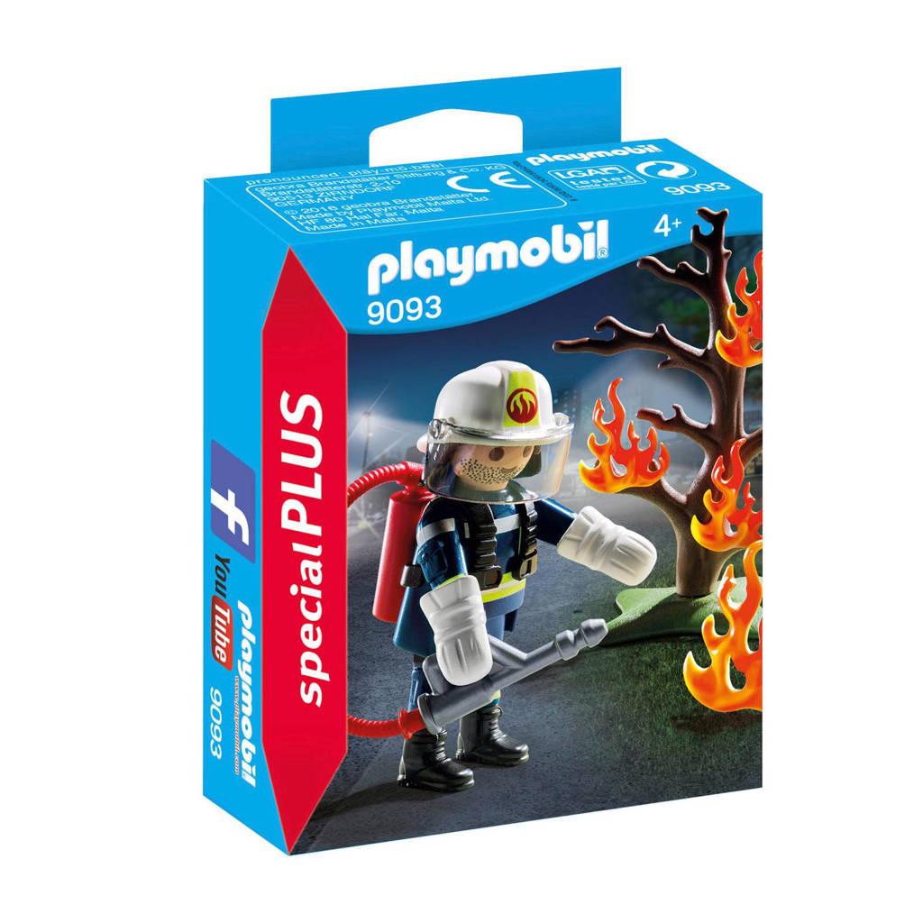 Playmobil Special Plus brandweerman met brandende boom  9093