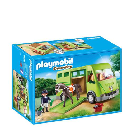 Playmobil Country Horse Box Groen, Grijs 1stuk(s) speelgoedfiguur kinderen