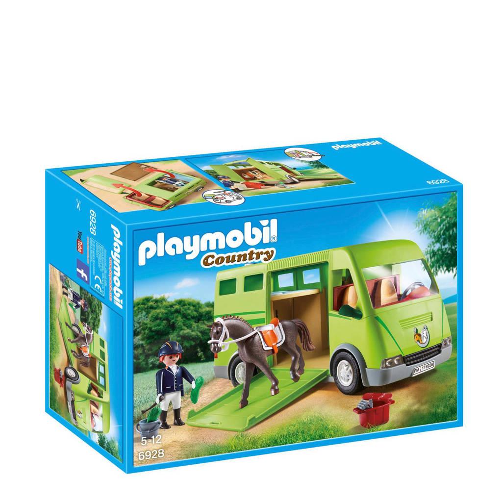 Playmobil Country paardenvrachtwagen  6928