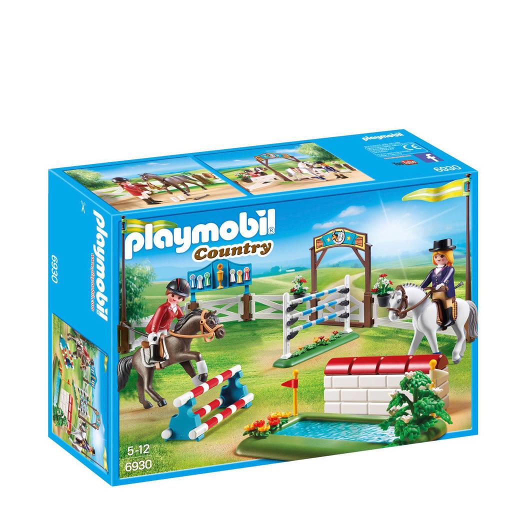 Playmobil Country paardenwedstrijd 6930