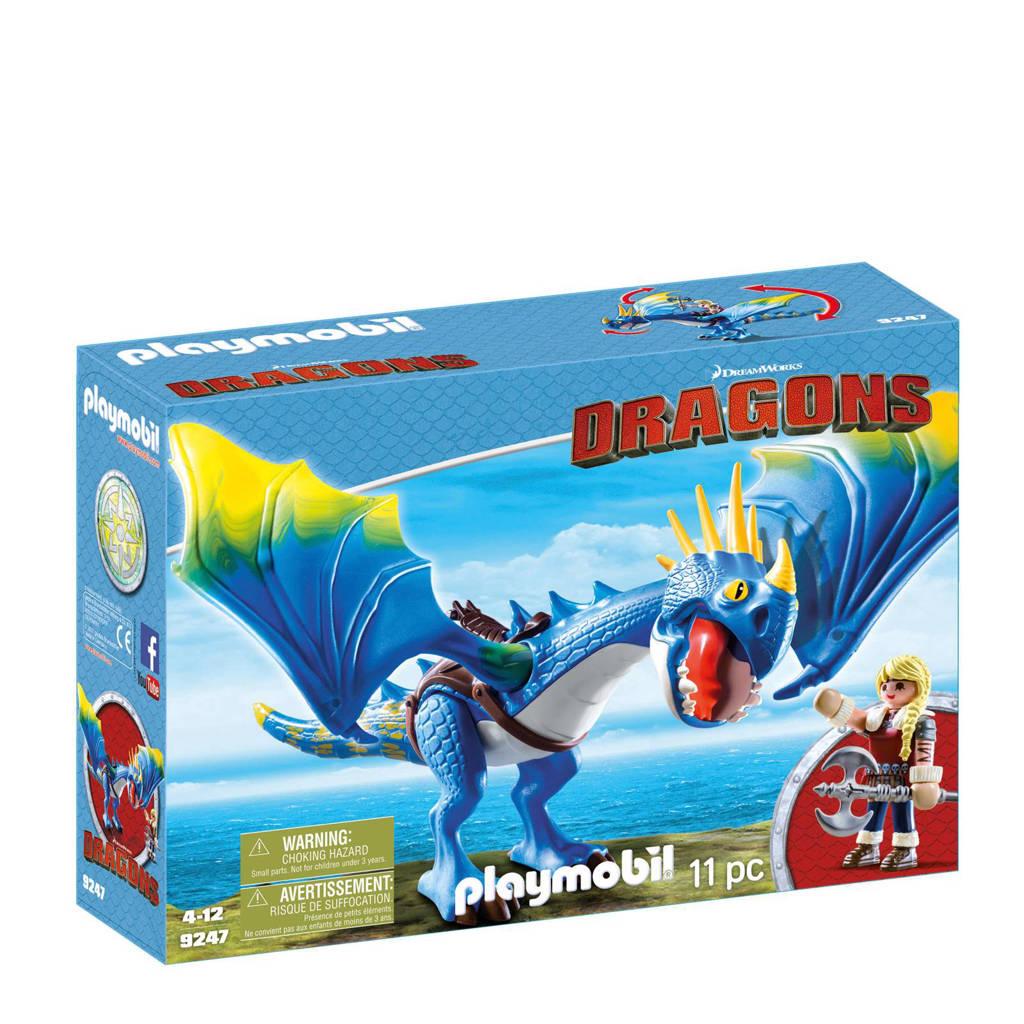 Playmobil Dragons Astrid & Stormvlieg  9247
