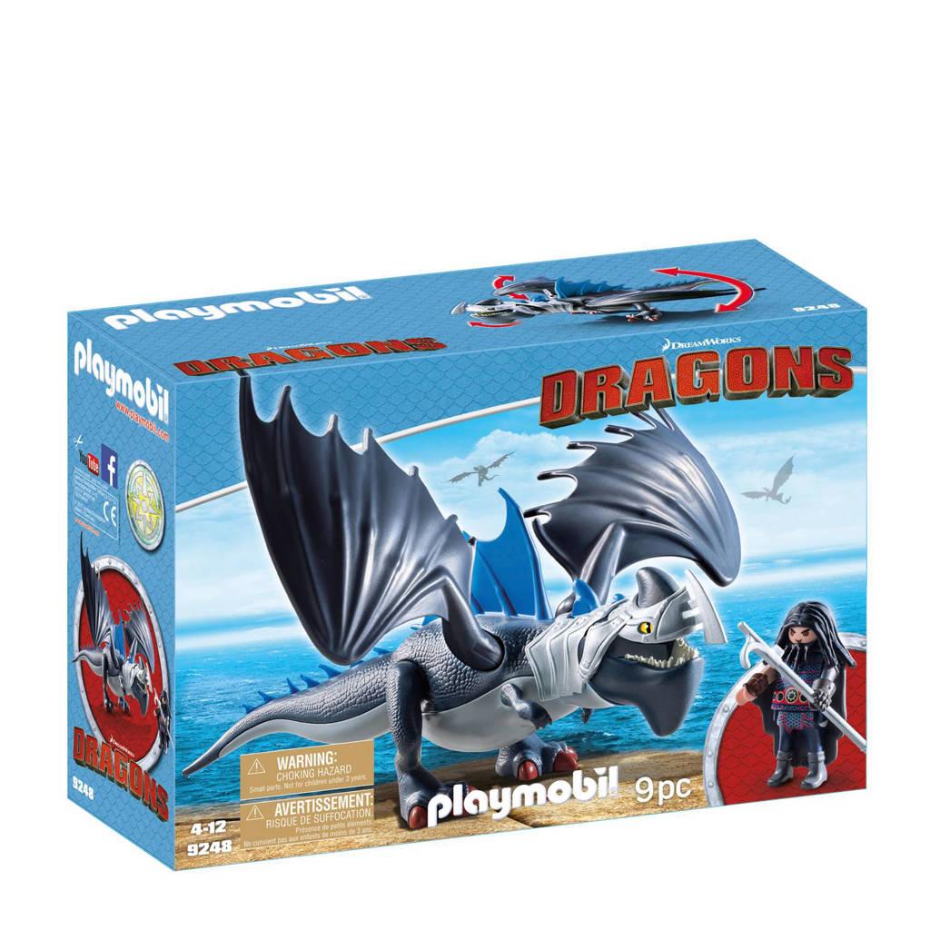 Playmobil Dragons Drago & bepantserde draak 9248