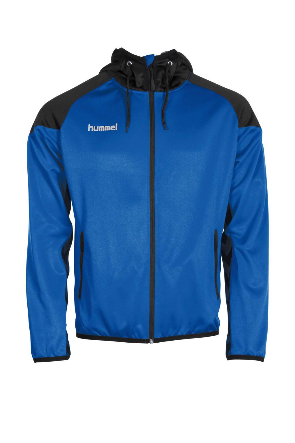 hummel Senior  sportvest, Blauw/zwart, Heren