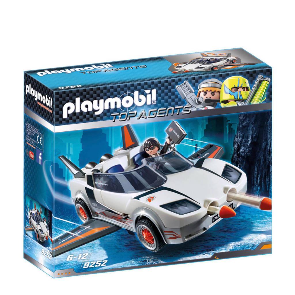 Playmobil Topagents agent P.'s Super Racer 9252