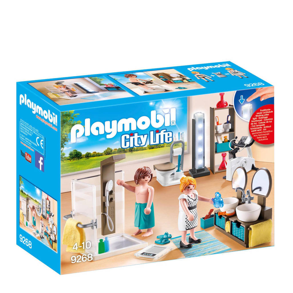 Playmobil City Life badkamer met douche 9268