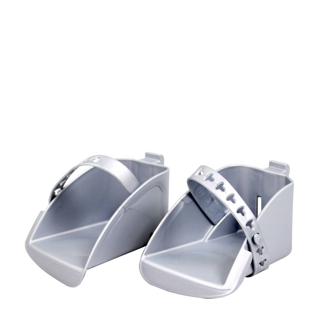 Polisport Boodie/Bubbly Maxi voetenbakjesset zilver, Zilver
