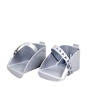 Boodie/Bubbly Maxi voetenbakjesset zilver