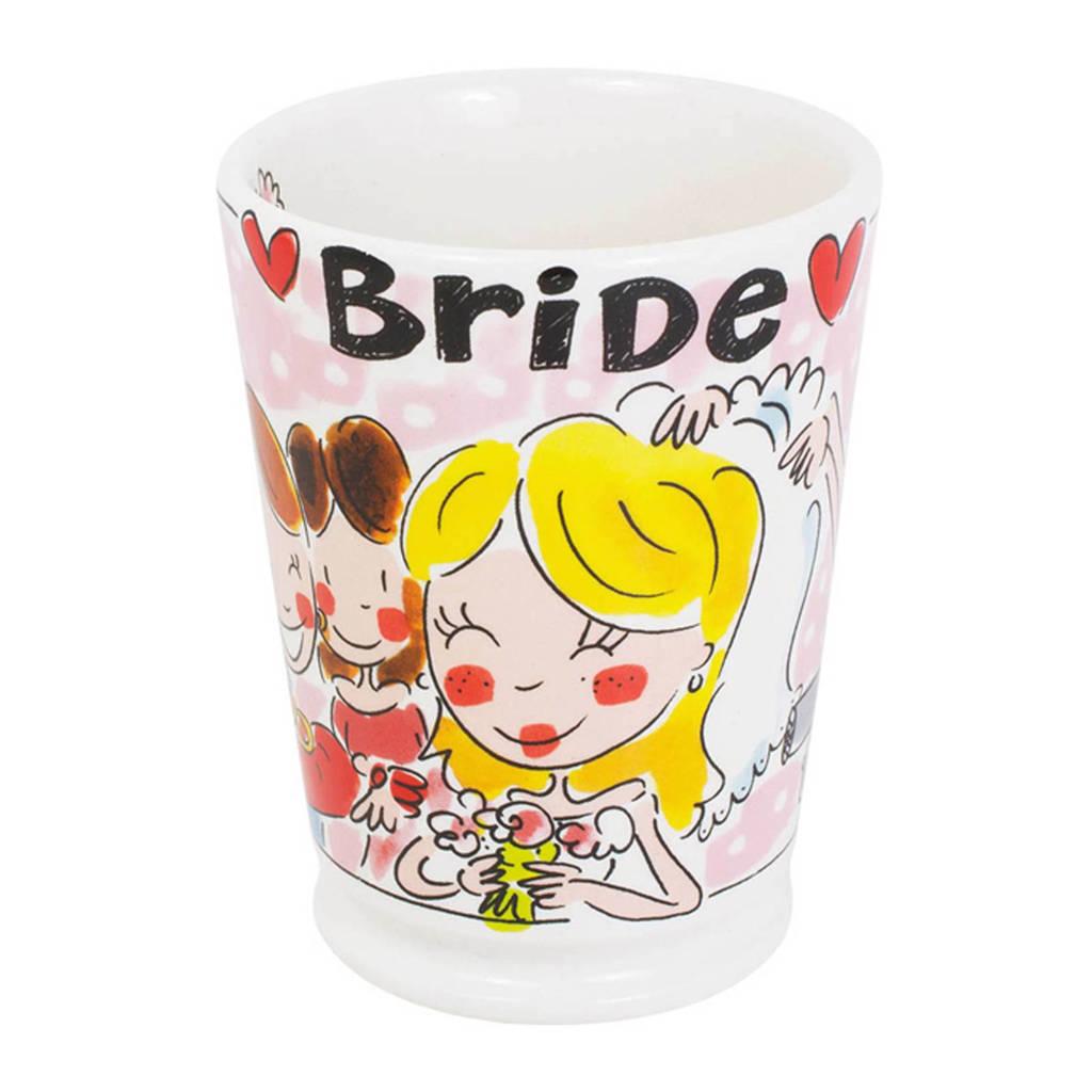 Blond Amsterdam mok Bride, Roze, rood, geel, wit