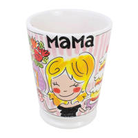 Blond Amsterdam mok Mama, Roze, rood, geel, wit