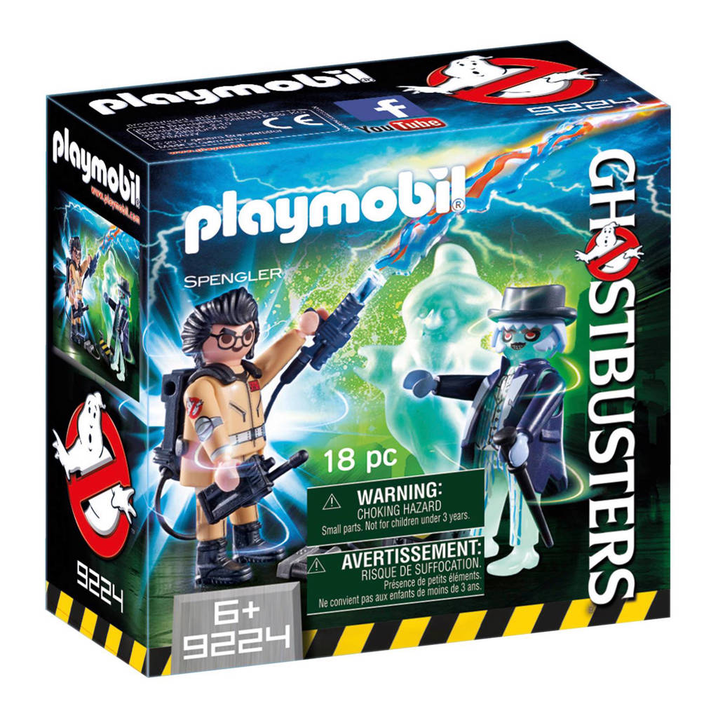 Playmobil Ghostbusters Spengler en geest  9224
