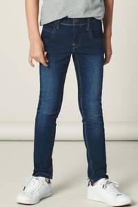 NAME IT KIDS Nittax slim fit  jeans, Dark blue denim
