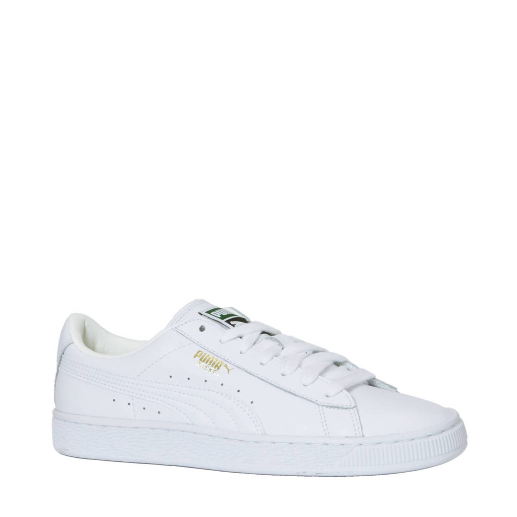 Puma   Basket Classic PS sneakers, Wit/Wit