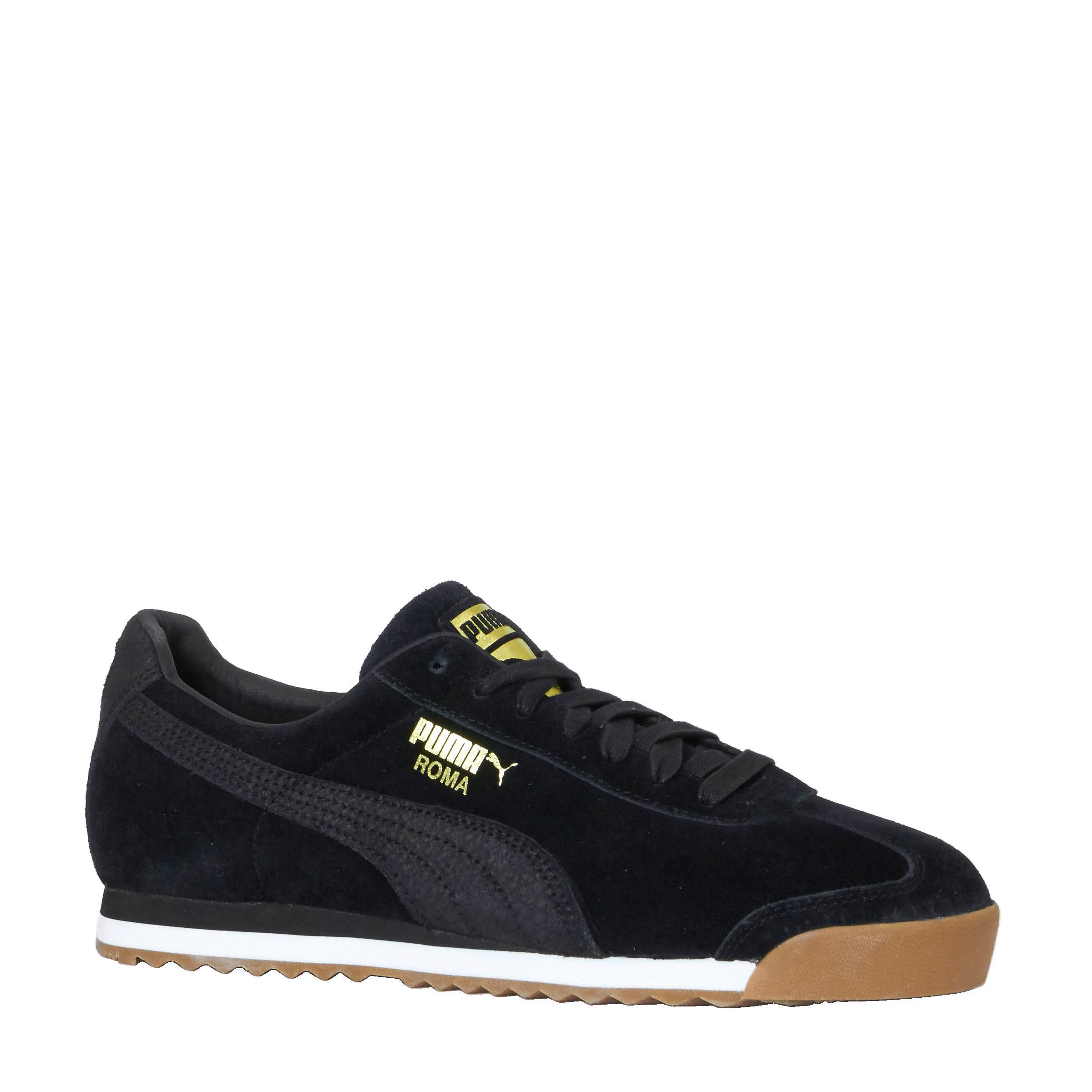 Zwarte PUMA Sneakers ROMA NATURAL WARMTH | Omoda