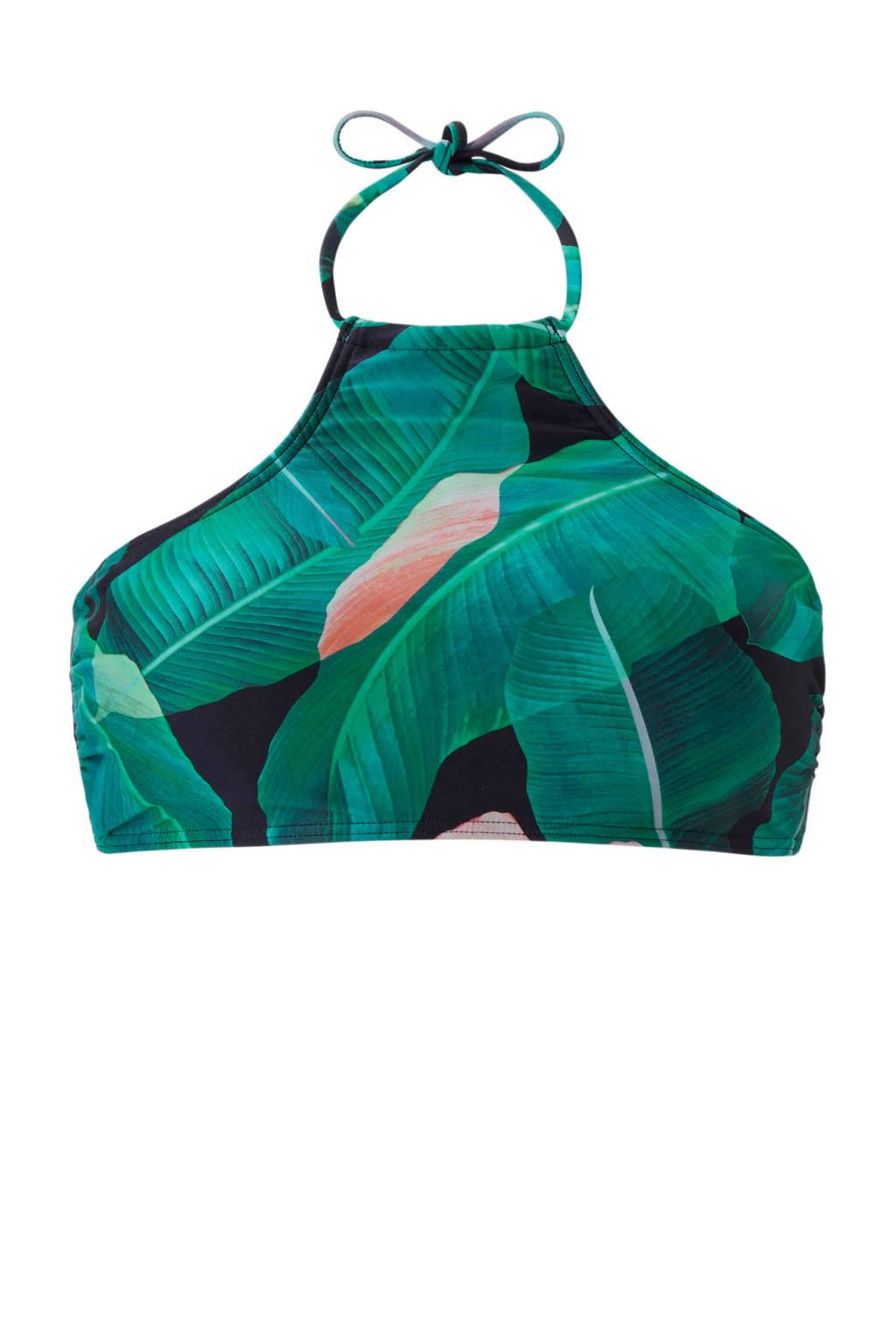 whkmp's beachwave crop bikinitop, Multicolor