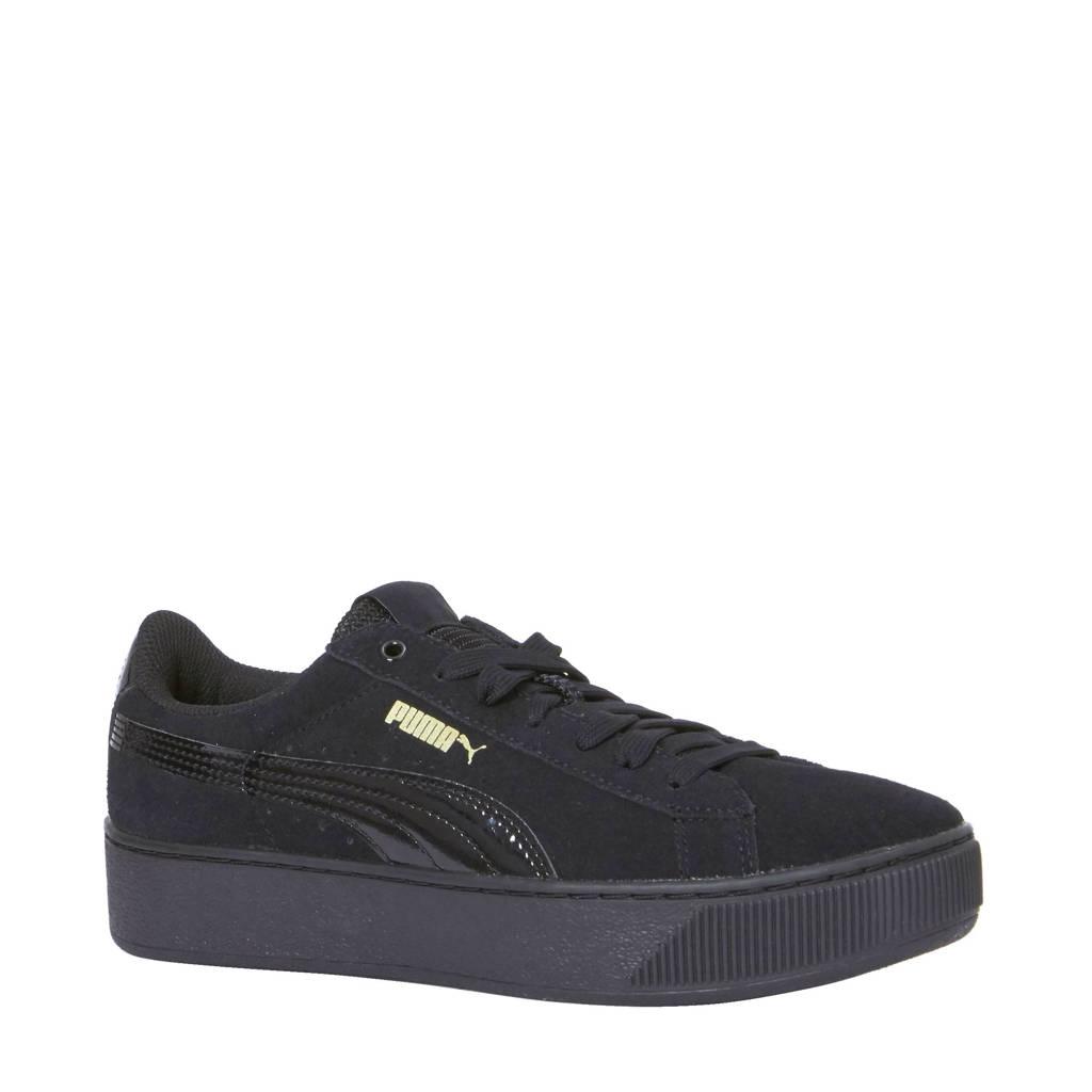 4b5c2ac4f6b Puma Vikky Platform sneakers, Zwart/Zwart