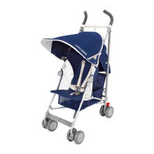 Globetrotter buggy blauw/wit