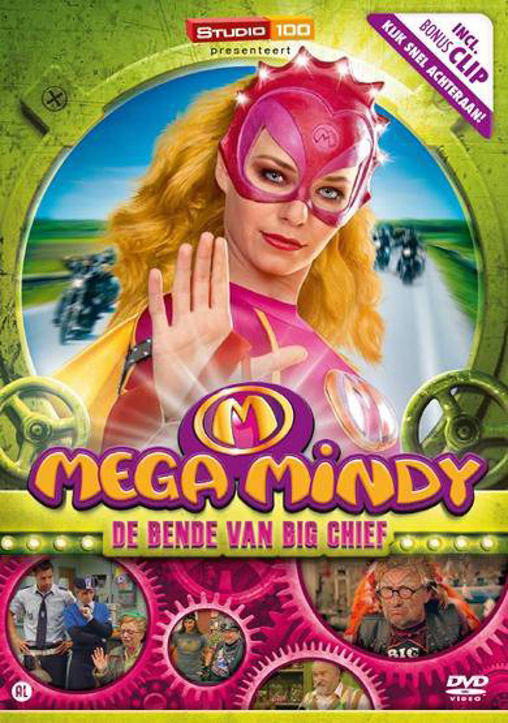 Mega Mindy - De bende van Big chief (DVD)