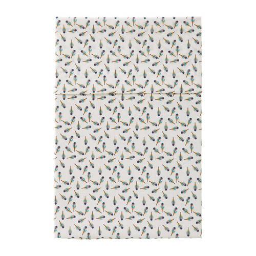 Cottonbaby Veertjes Ledikantlaken 120 x 150 cm