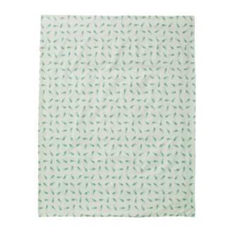 zeepaardjes dekenhoes 100x135 cm mint