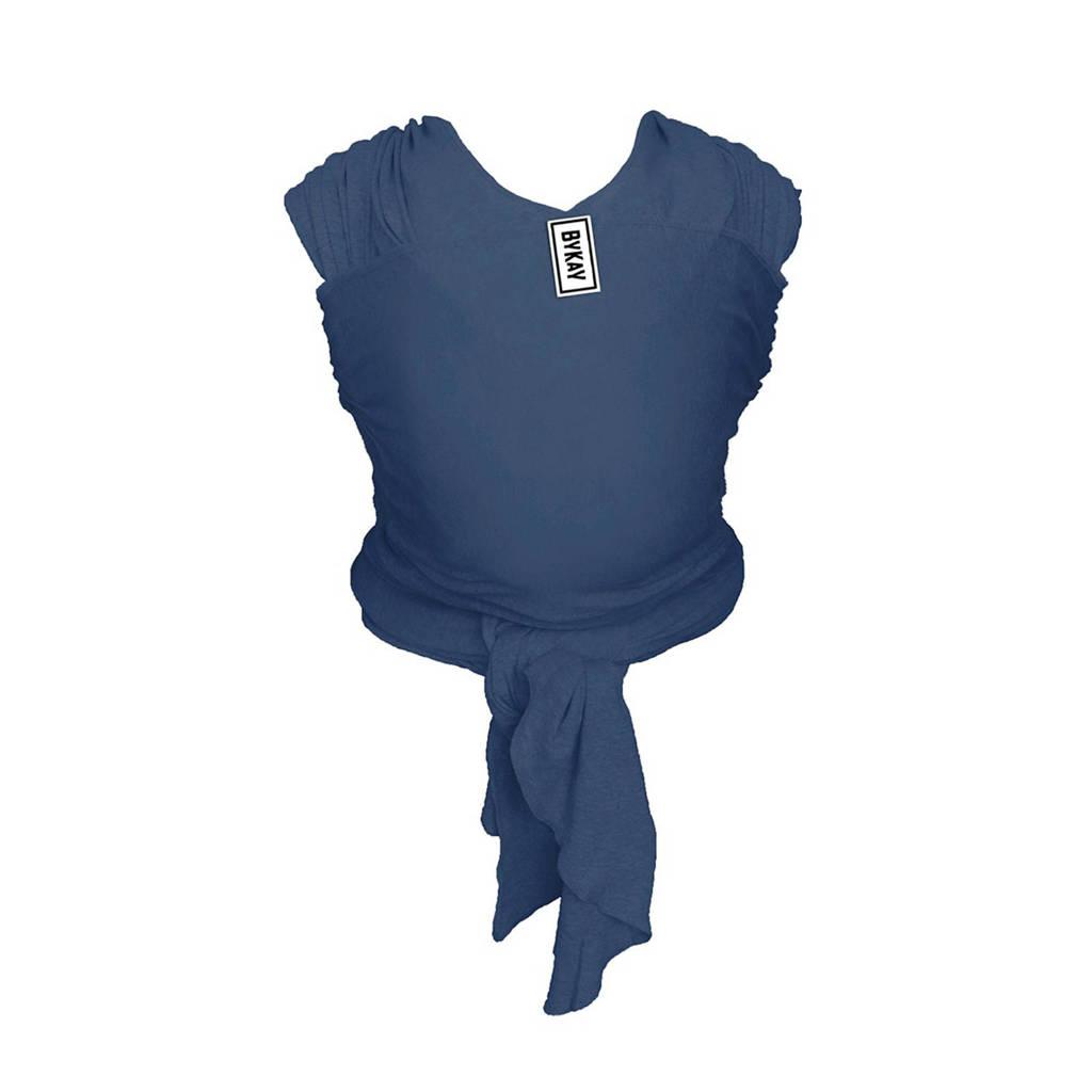 ByKay Stretchy Wrap Classic draagdoek jeans blauw, Jeans blauw