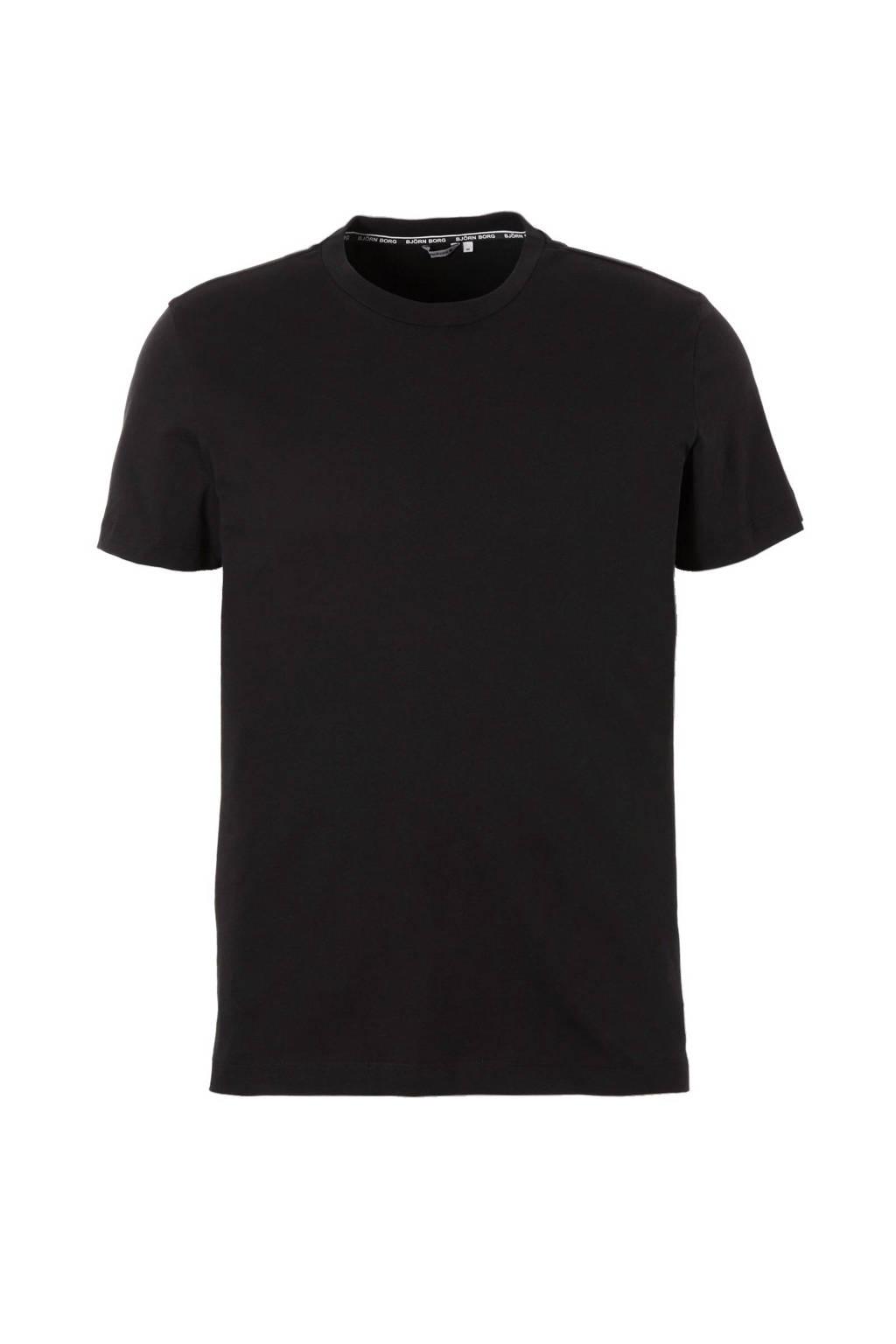 Björn Borg   sport T-shirt, Zwart