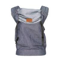 ByKay Click Carrier Classic baby draagzak dark jeans, Dark Jeans