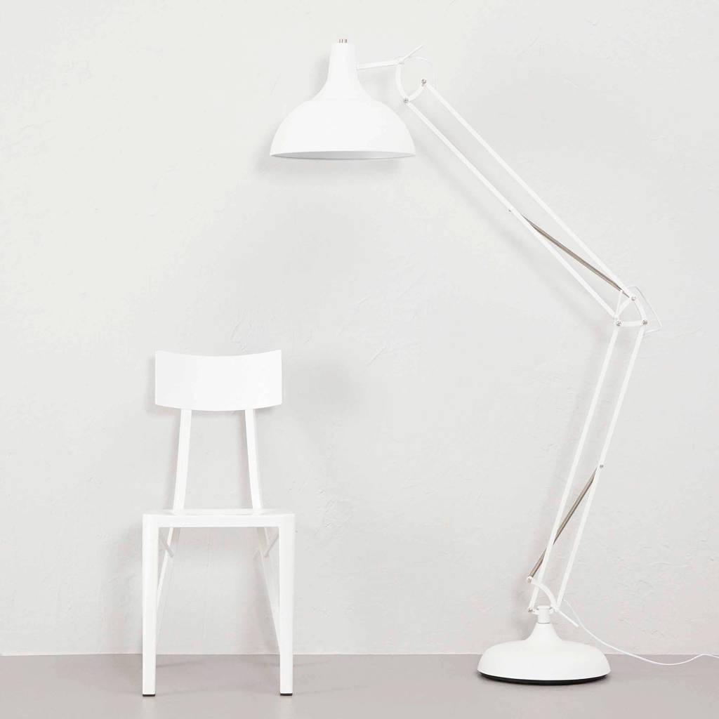 whkmp's own vloerlamp Office XL met dimmer, Wit