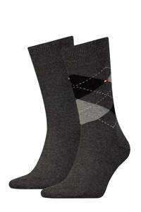 Tommy Hilfiger sokken (2 paar), Antraciet