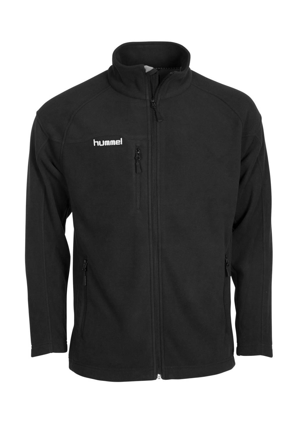 hummel   fleece vest, Zwart