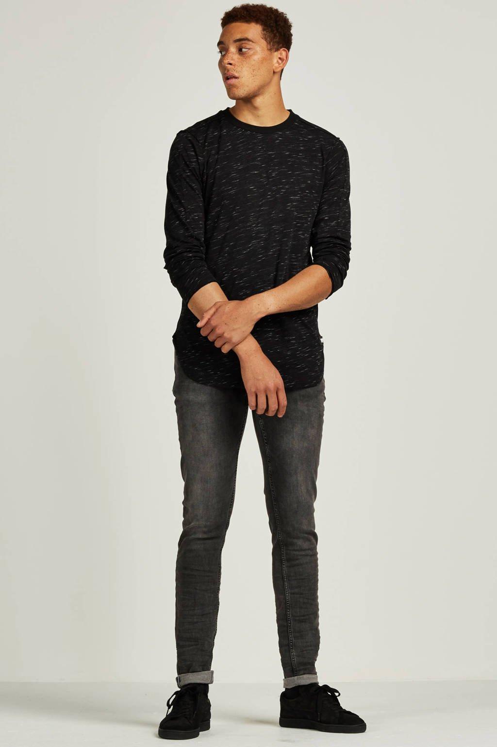 Purewhite slim fit jeans The Jone 126, Antraciet