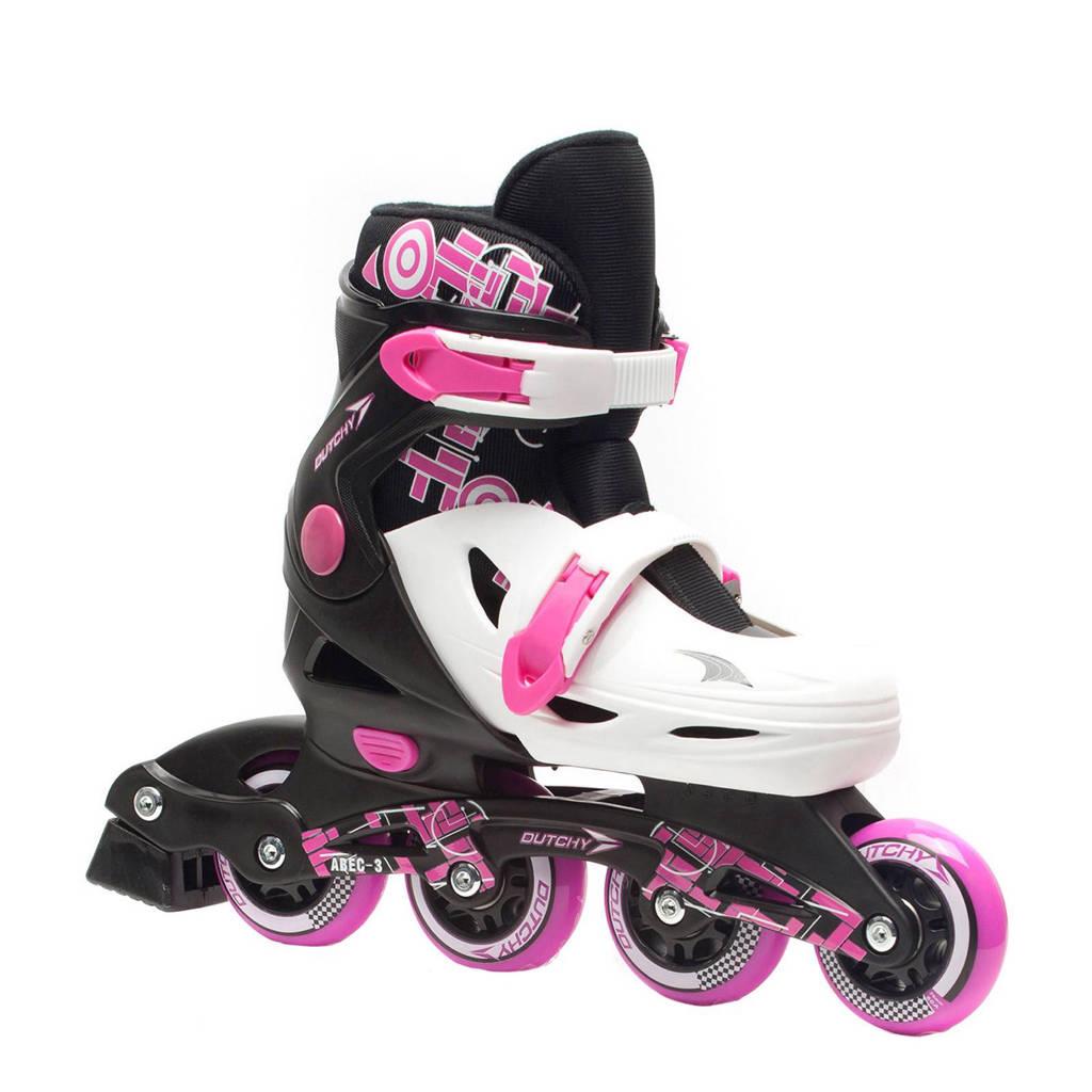 Scapino Dutchy meisjes skates, Roze/wit/zwart